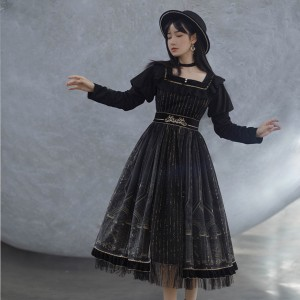 Empire Darkness Lolita Style Dress OP (WJ05)