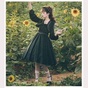 Miss Tasha Classic Lolita Dress & Bolero Set by Cat Highness (CH12)