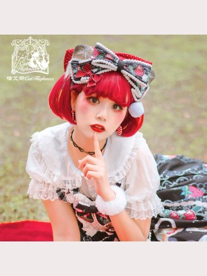 Strawberry Cat Lolita KC by Cat Highness (CH23)