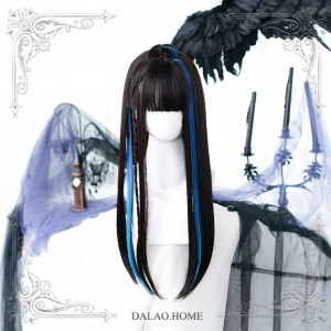 Devil Rock Long Lolita Wig (DL18)