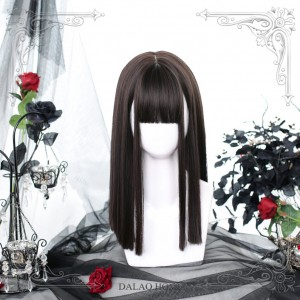 Sphenoid Bone Straight Lolita Wig (DL28)