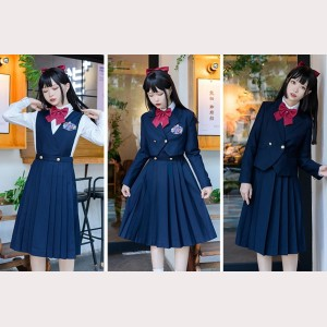 Institute Of Navigation Lolita Style Dress & Jacket Set (KJ24)