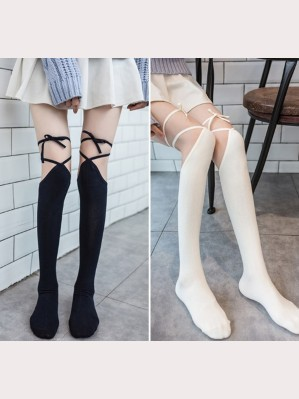 All-Match Over Knee Lolita Style Socks OTKS (NP01)