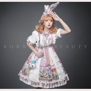 Alice Sweet Lolita Dress OP by Yupbro (YB01)