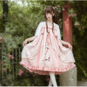 Japanese Crane Lolita Dress JSK (BJ04)