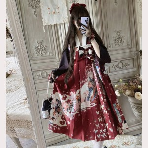 Sakura Fox Lolita Japanese Style Dress JSK (DJ21)