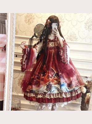 Chinese Dragon Lolita Dress (DJ24)