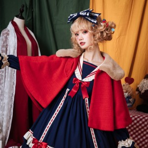 Miss Betty Lolita Fleece Cloak by Eieyomi (EY01)