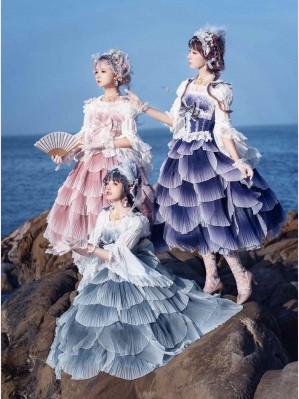 Fish Scales lolita dress JSK by Elpress L (EL01)