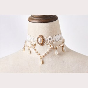 Gorgeous Mermaid Classic Lolita Matching Choker (HS04)