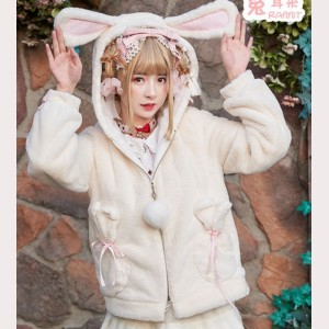 Rabbit Ears Lolita Fleece Jacket (KJ03)