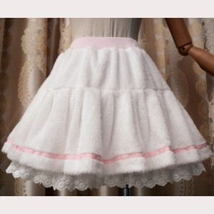 Fleece Lolita Short Skirt  (KJ05)