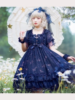 Code Word Of Constellations Classic Lolita dress OP by Shimotsuki Sakuya (SKY01)
