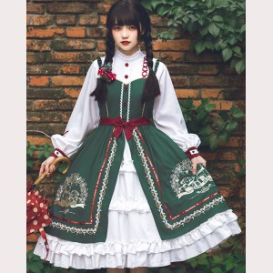 Wishing Bell Christmas Lolita Dress OP (WJ03)