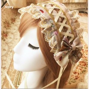 The Garden of Paradise Lolita Headband KC (K006)