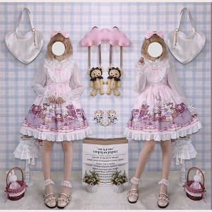 Afternoon Tea Rabbit Sweet Lolita Style Dress JSK (CC03)
