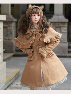 Christmas Knight Sweet Lolita Style Overcoat (CM04)