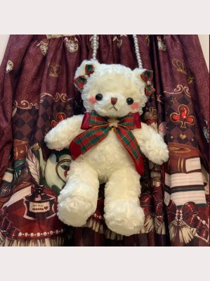Christmas Teddy Bear Lolita Handmade Shoulder Bag (CM08)