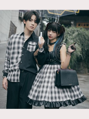 Couple Gothic Punk Lolita Style Dress JSK / Shirt (CO01)