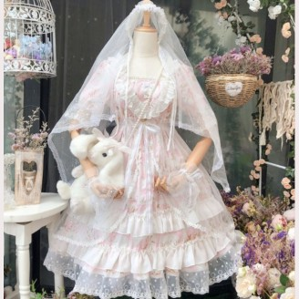 Bride In The Sky Lolita Style Dress by Dou Jiang (DJ11)