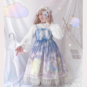 Space Observer Sweet Lolita Style Dress JSK (HA57)