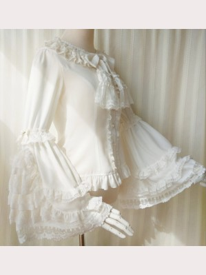 Orchid Lane Trumpet Sleeve Classic Lolita Style Blouse (OL08)