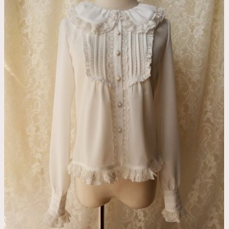 Orchid Lane Puff Collar Lolita Style Blouse (OL09)