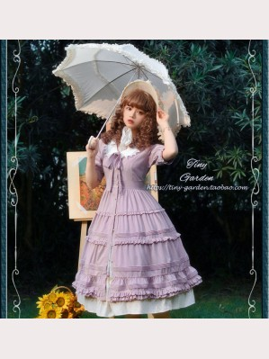 Tiny Garden French Lady Classic Lolita Dress OP (TG03)