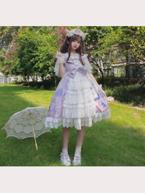 Castle In The Sky Lolita Style Dress JSK (WS02)