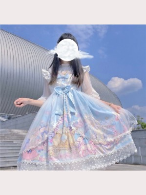 Bear Party Lolita Style Dress JSK (WS04)