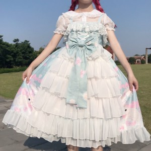 Kitty Day Dream Lolita Style Dress JSK (WS05)