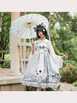 Alice In The Wonderland Wa Lolita Dress Set by OCELOT (OT03)