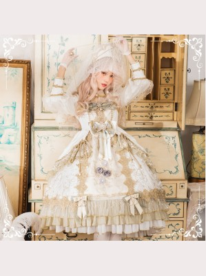 Dawn Nightmare Classic Lolita Dress OP by Sika (SIKA01)