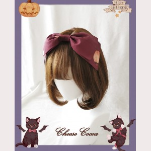 Happy Halloween Vampire Cat Lolita Style Headbow KC (HA02)