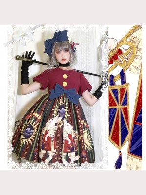 Circus Rabbit Lolita Style Dress OP (HA04)