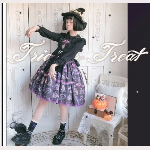 Witch's Secret Medicine Glow In The Dark Lolita Dress JSK (HA05)