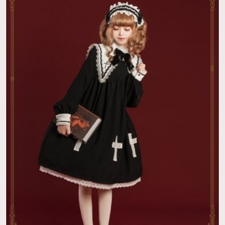 Halloween Little Witch Lolita Style Dress OP (HA06)