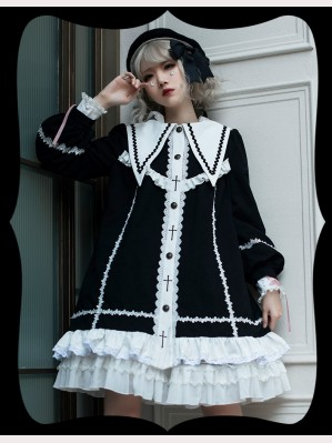 The Cross Gothic Lolita Dress / Jacket (HA19)