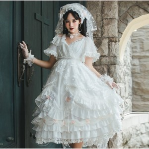 Swan Lake Lolita Style Dress OP (HA21)
