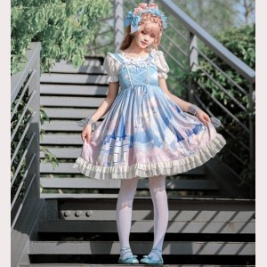 Whale Castle Lolita Style Dress JSK (HA27)