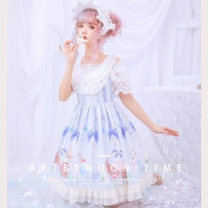 Afternoon Time Lolita Style Dress (HA28)