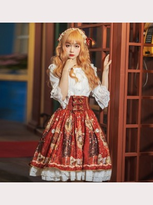 Retro Court Lolita Style Skirt SK (HA30)