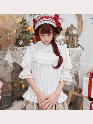 High Neck Classic Lolita Style Blouse (HA33)