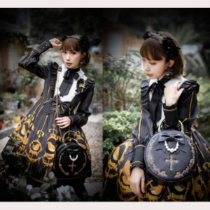 The Cross Gothic Lolita Style Handbag (HA35)