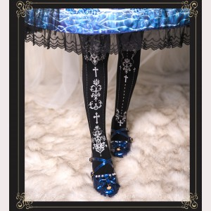The Cross Lolita Style Tights (HA38)