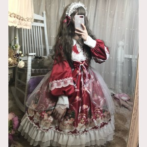 Christmas Snowman Crystal Ball Lolita Special Set (CM01)