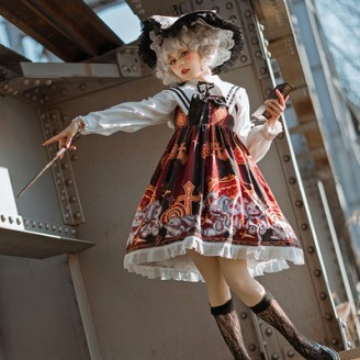 Halloween Rabbit Lolita Style Dress JSK (HA44)