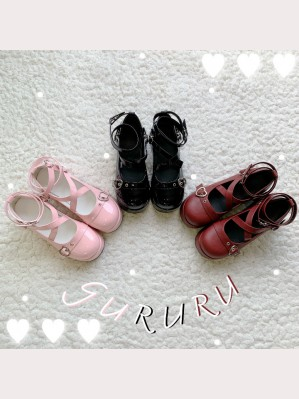 Lolita Style Platforms Shoes (HA48)