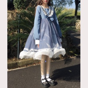 Sailor Lolita Style Dress (HA53)