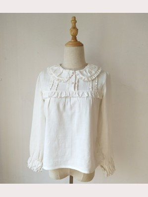 Orchid Lane Ramic Cotton Lolita Blouse (OL12)